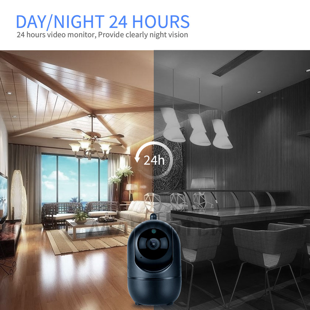 Image 5 - Baby Monitor WiFi Auto Tracking IP Camera WiFi Home Security Camera Night Vision Wireless Surveillance Mini CCTV Camera 1080P HD-in Baby Monitors from Security & Protection