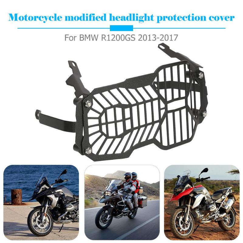 VODOOL Motorcycle Accessories Parts Headlight Cover 10 5 5 59 quot Grill Guard Protector Frames Fittings for R1200GS LCS 2013 2017 in Covers amp Ornamental Mouldings from Automobiles amp Motorcycles
