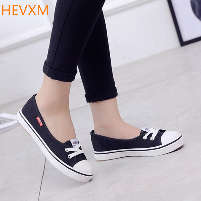 HEVXM 7 colors 2017 spring summer new ladies fashion shallow mouth trend a pedal flat shoes