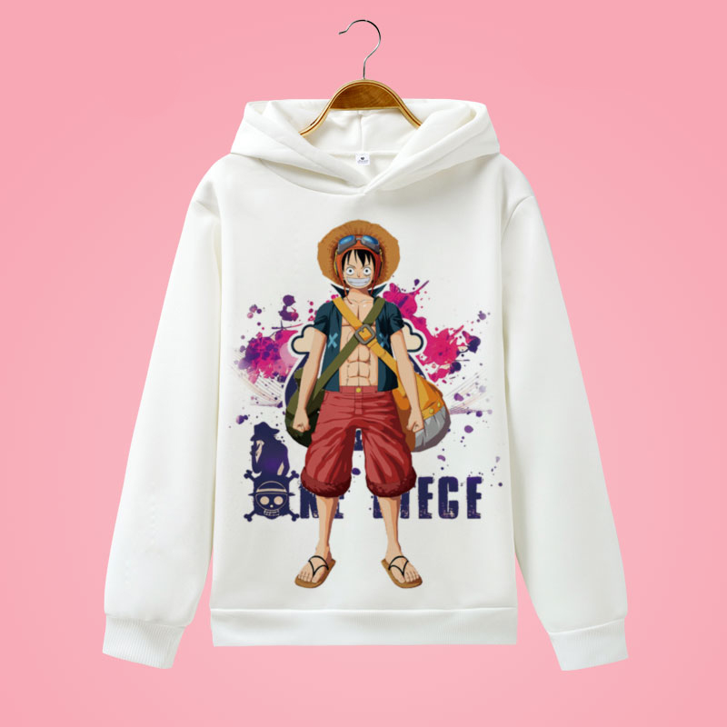 One Piece Hoodies Men Womens Law Luffy Chopper Fans Printed Hooded Pullover Fleece Cotton Casual Sweat Homme Jacket CM421