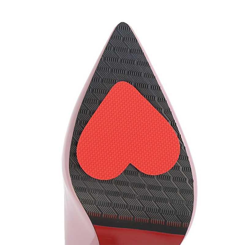 Bộ 2 Miếng Lót Giày Đế Bảo Vệ Không Trơn Trượt Nữ Giày Cao Gót Đệm Bàn Chân Trước Miếng Dán