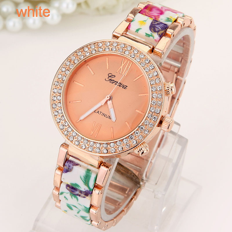 Flowers Women Watch  (8)