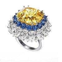 2017 Qi Xuan_Fashion Jewelry_Golde камень простые элегантные женские туфли лодочки на Rings_S925 однотонные Серебристые модные Rings_Manufacturer прямые продажи
