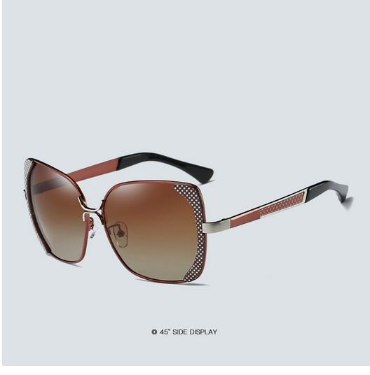 Female polarized elegant butterfly brand designer lady polarized sunglasses female Oculos De Sol KINGSEVEN shadow s'40 17