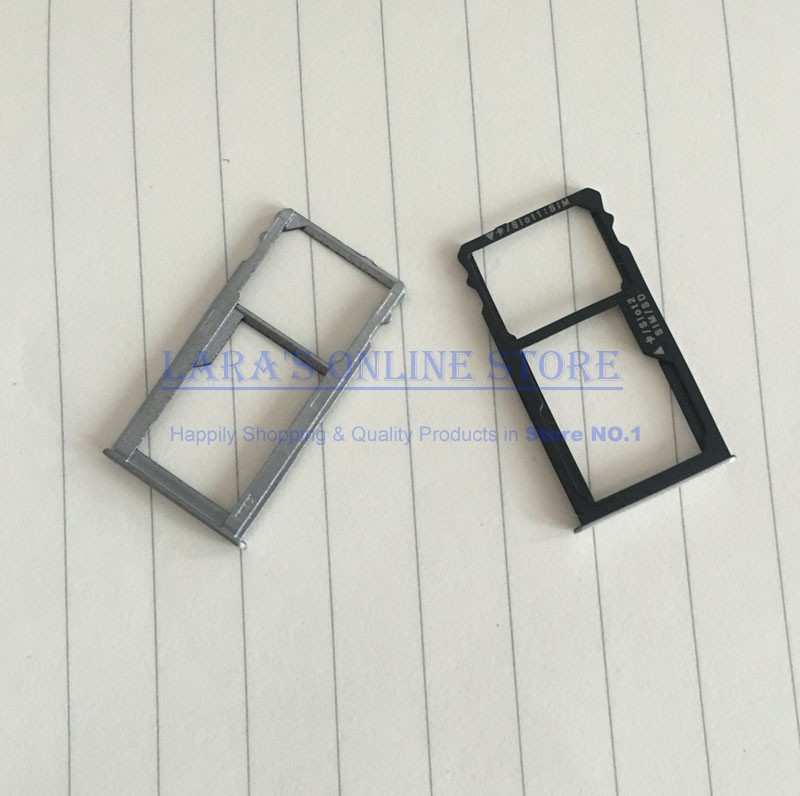 Original New for Huawei Mate S 5.5 Sim Card Slot Tray +SD Card Holder Slot Adapter Replacement Parts