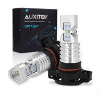 2 sztuk PSX24W LED H16 światła przeciwmgielne H8 H11 H10 9145 HB3 9005 HB4 9006 2504 5202 żarówki LED DRL lampa samochodowa 1500LM 6000K biały DC12-24V