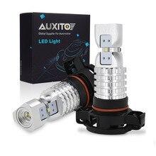 2PCS PSX24W LED H16 안개등 H8 H11 H10 9145 HB3 9005 HB4 9006 2504 5202 LED 전구 DRL 자동 램프 1500LM 6000K 화이트 DC12 24V