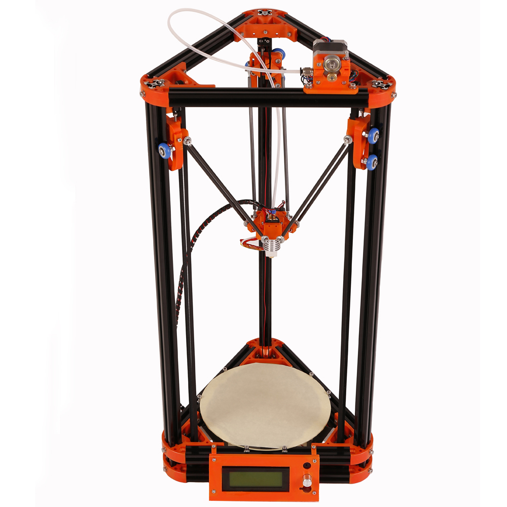 Auto Leveling 3d Reprap Rostock Printer Kit 3d Printer Kossel XL 3D Printer Kit With 40m Filament 2GB SD Card for Free
