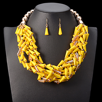 UDDEIN African Beads...