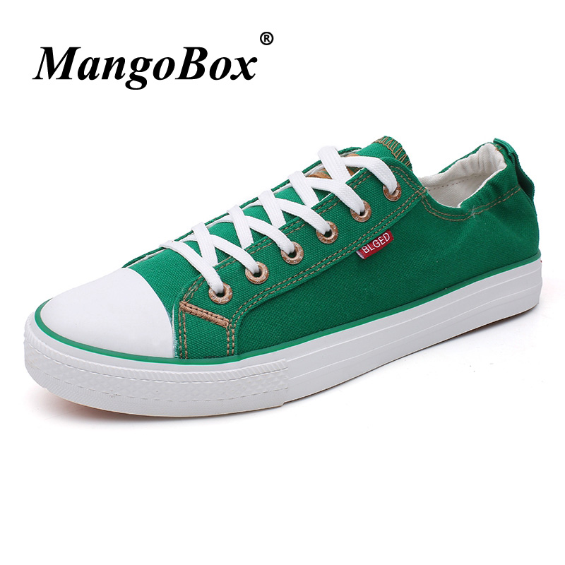 Luxury Brand Fashion Male Footwear Low Top Canvas Shoe Walking Shoes - Men's Shoes