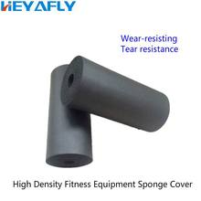 Gymnasium Equipment Accessories Smooth Sponge Cover Handstand Sit-Ups Dumbbell Stools Accessory Training Hook Foot Parts стоимость