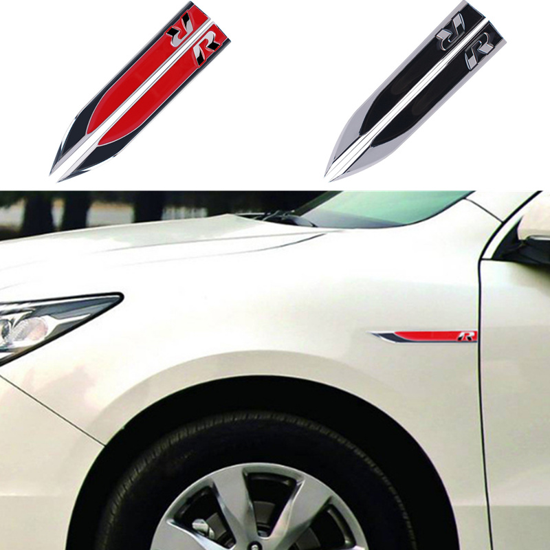 Exterior Accessories 1 Pair Car Sticker 3d Wings Decoration Sticker For Chevrolet Cruze Trax Aveo Lova Sail Epica Captiva Volt Camaro Cobalt At All Costs Car Stickers
