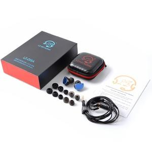 Image 5 - 2019 LZ Z05A באוזן אוזניות דינמי כונן HIFI IEM מתכת אוזניות Earbud עם נתיק לנתק MMCX כבל MMCX להסרה LZ A6