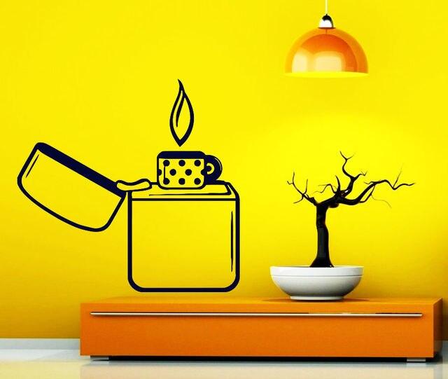 The lighter design wall sticker Fine Art Artwork Wall Decals Decal ...