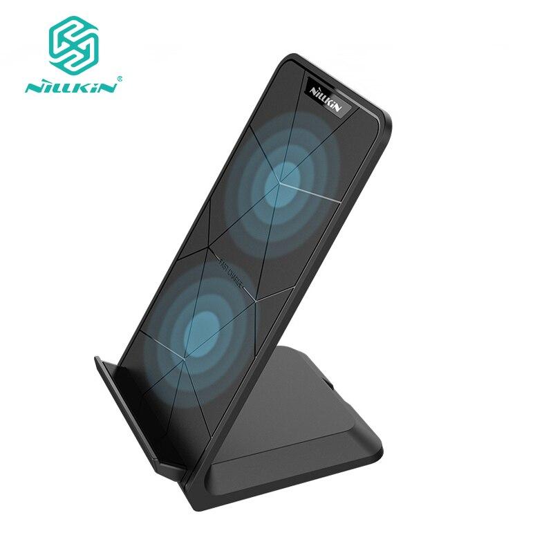 Nillkin Qi Chargeur Sans Fil Pour Samsung Galaxy S9 S8 Plus Note 8 Rapide Sans Fil De Charge Pad Stand Pour iPhone 10X8 Plus