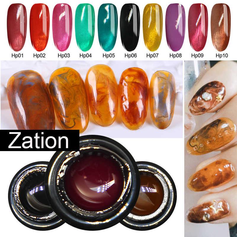 לאספקה ריבת זכוכית סוכריות ג 'ל ציפורניים לספוג את UV לכה מראה תכונה שקוף ניאון צבע משרים כבוי UV לכה מראה