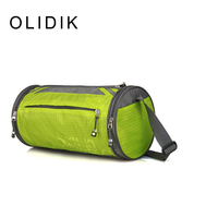 Shoulder Drum Fitness Manufacturers Wholesale Fashion Outdoor Package Round Men S Travel Bag Black Green 10L