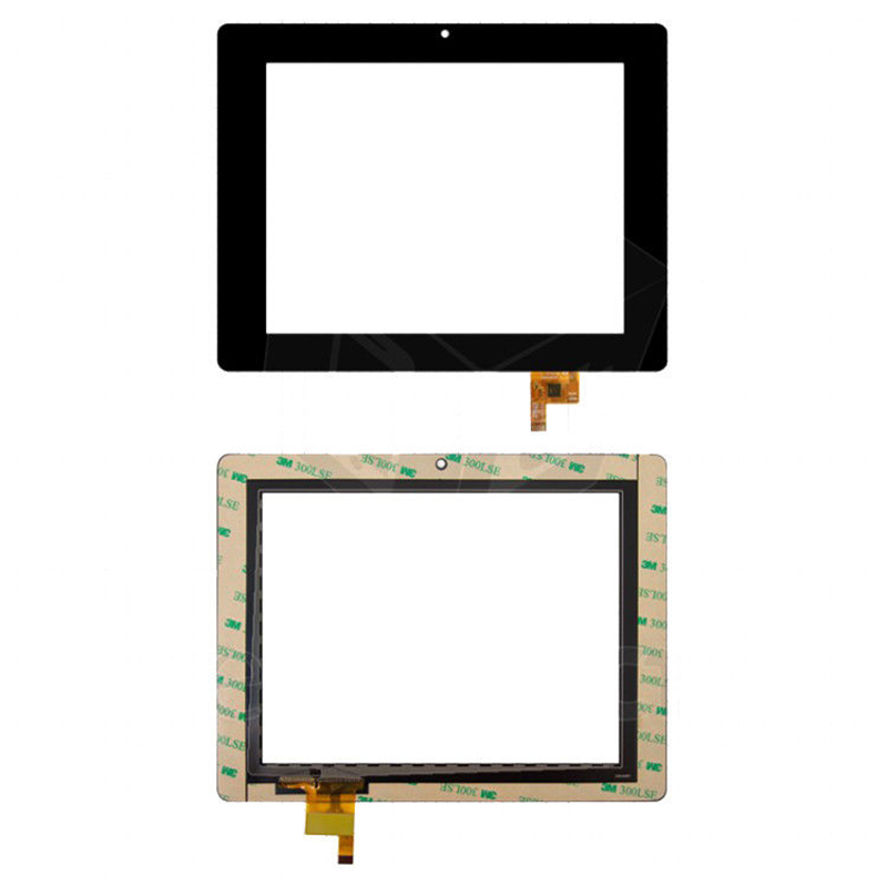Black New 8 Tablet For GoClever TAB R83 R83.2  Touch screen digitizer panel replacement glass Sensor Free Shipping new black original 10 1 inch goclever tab r104 tablet touch screen digitizer glass touch panel sensor free shipping