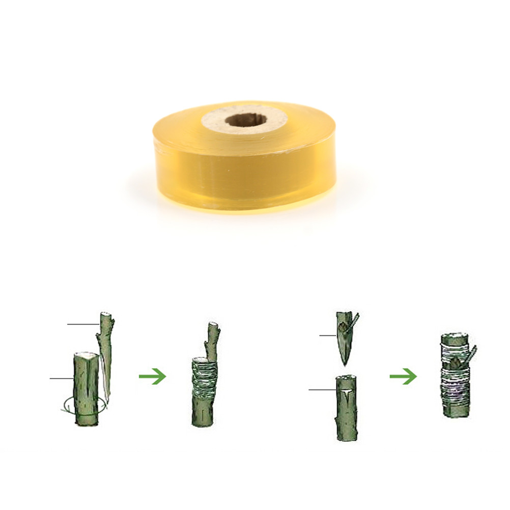 Nursery Grafting Tape Garden Tools Fruit Tree Branch Gardening Bind Belt Grafting Tape Pressure Sensitive Adhesive 2cm Width