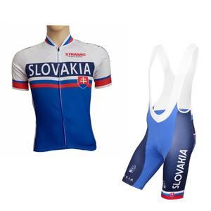 mens breathable racing bike clothing 2017 summer pro team slovakia champion  cycling 1e5e9e4fd