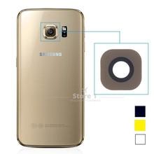 2pcs/Lot for Samsung Galaxy S6 100% Original Glass Camera Le