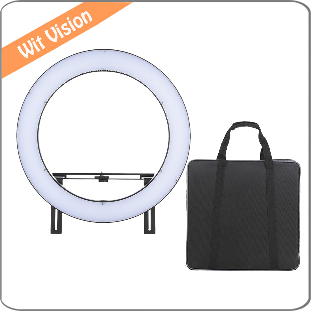 FalconEyes DVR-512DVC Photography Studio LED Ring Light CRI90+ 3200-5600K Adjustable Color Temperature Camera Video Fill-in Lamp rekam dvc 340 black цифровая видеокамера