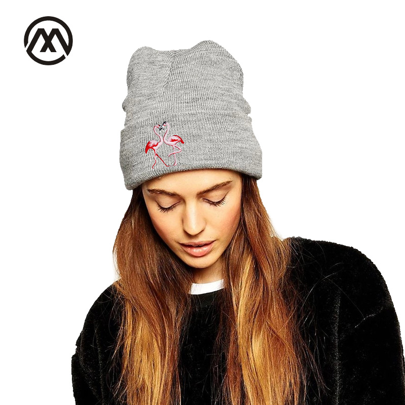2017 Fashion Animal Pattern Knitted Hat For Women Ms