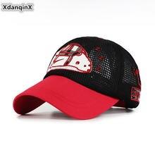 Xdanqinx/Детская кепка бейсбольные кепки из дышащей сетки для