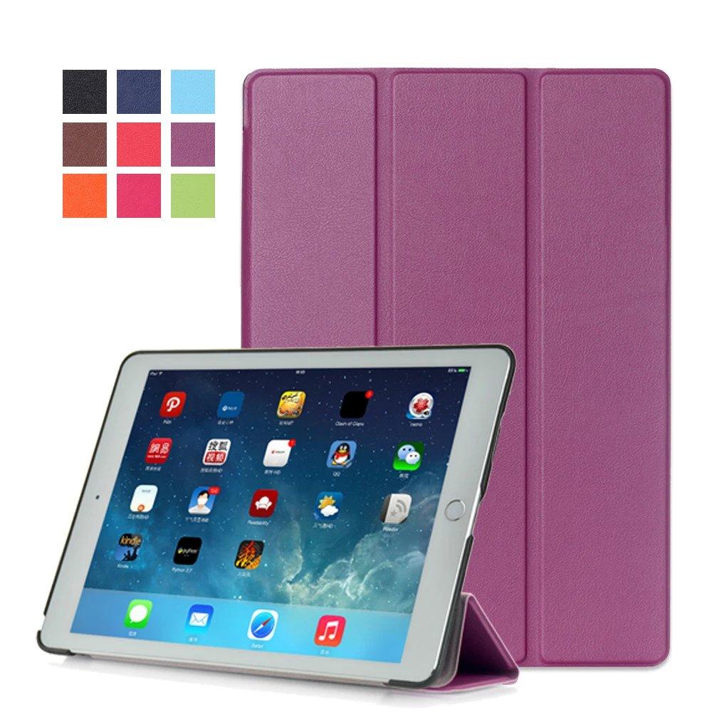 Purple Monochrome multicolor smart case for Apple iPad Pro 9.7 inch 2016