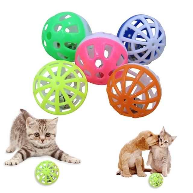 1 pz palla colorata giocattolo dell'animale domestico giocattolo del cane del ga