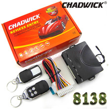Car Auto Remote Central Kit Door Lock Locking Vehicle Keyless Entry System New With accessories styling CHADWICK 8138