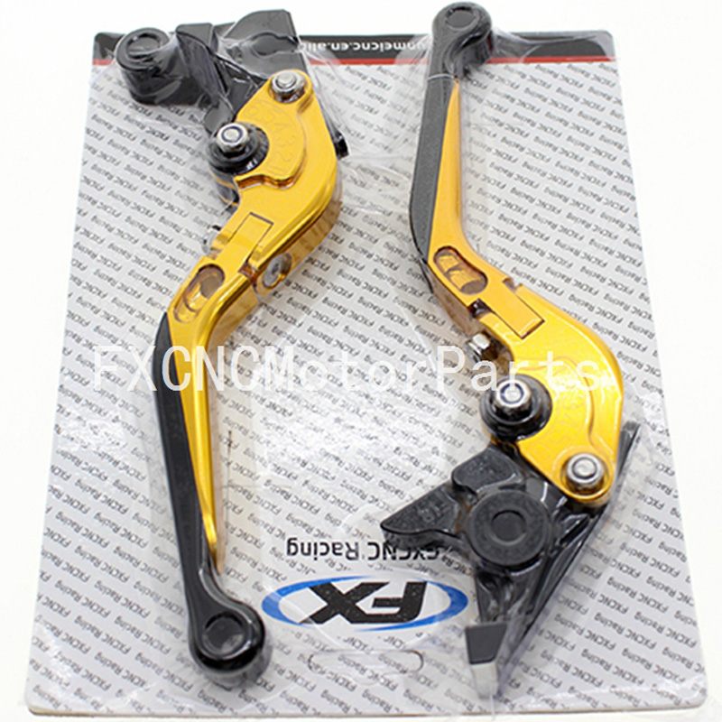 FX CNC Motorcycle Folding Extendable Brake Clutch Levers For Kawasaki ZX10R 2006 - 2015 2007 2008 2009 2010 2011 2012 one pair black cnc adjustable motorcycle brake clutch levers for kawasaki zx10r 2006 2012 2006 2007 2008 2009 2010 2011 2012
