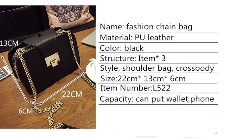 a60aee6adaf02 LAMAX ZARA women leather handbags Chain Strap Flap female Shoulder ...