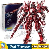 3D Metal Puzzle Super Heroes Red Thunder Mech Classic Metallic Gundam Robots Figures Model Assemble Teenagers Kits Toys Jigsaw