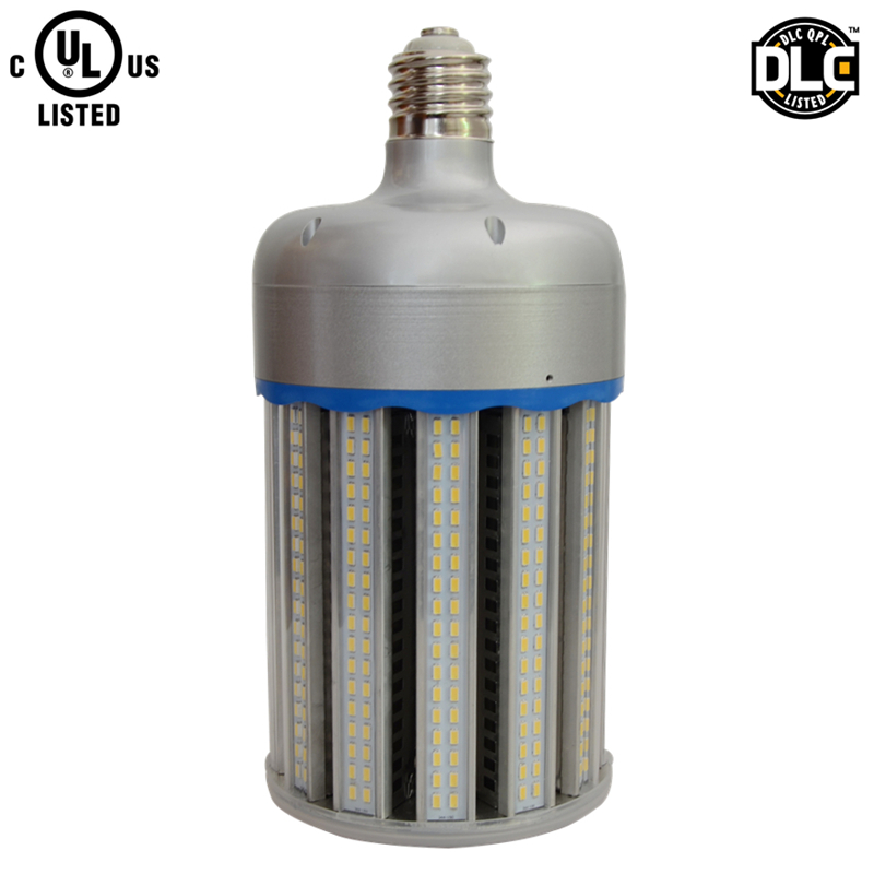 Aluminum 130lm/w IP64 water proof E40 E39 DLC UL 150w led corn light bulb replace 1000w HPS metal halide lamp topoch led corn bulb street light 54w 6500 lm ul dlc listed hid replacement mogul e39 base ip64 outdoor indoor area lighting