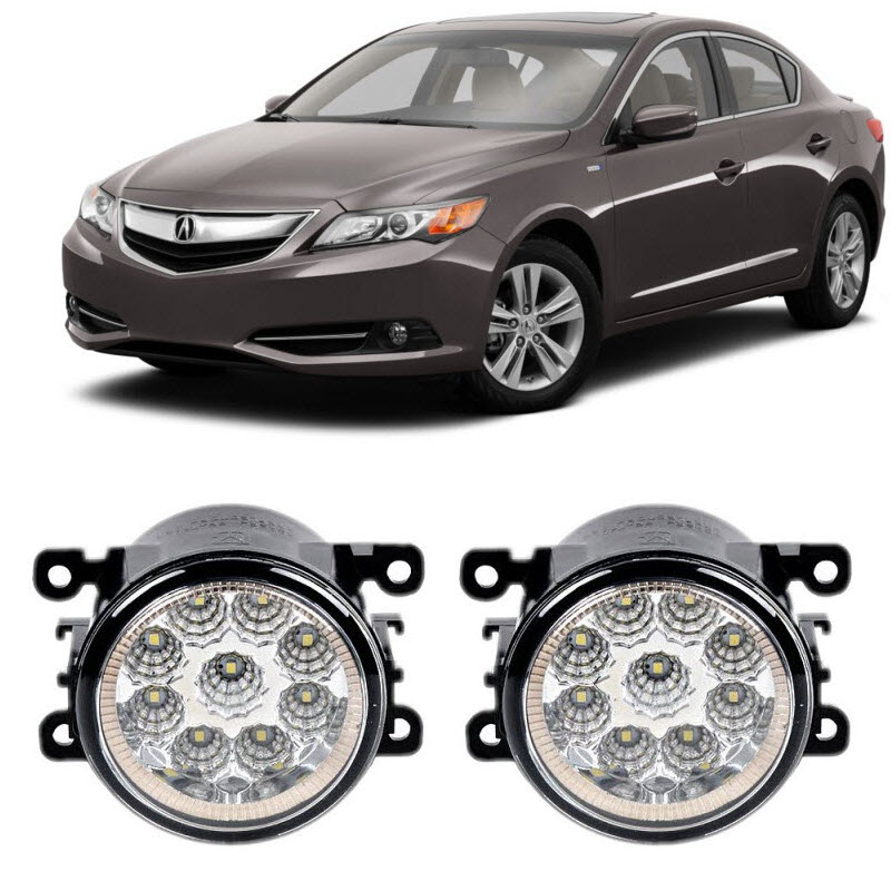 Car Styling For Acura ILX 2013 2014 2015 2016 9 Pieces Led