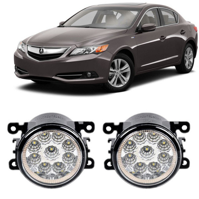 Car Styling For Acura ILX Pieces Led Fog - Acura ilx fog lights