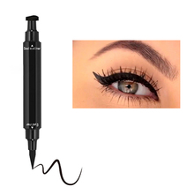 цены на Double-Headed Seal Black Eyeliner Triangle Seal Eyeliner Waterproof Eyes Makeup Pen Eyeliner Pen and Eyeliner Stamp  в интернет-магазинах