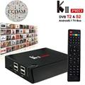 S905 KII Pro Android Caja de la Tv DVB-S2 DVB-T2 Amlogic Android 5.1 Smart Tv Caja 2 GB 16 GB 2.4G/5 GHz WiFi UHD 4 K * 2 K + 1 Año Cccam Cline