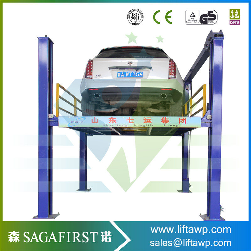 3600kg Double Layers Two 2 Post Hydraulic Car Lift Jack