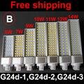 led pl lamp g24d g24d-1 g24d-3 g24d-3 pl bulb Lamp 5W 7W 9W 10W 11W 12W 14W SMD5730 5050 2835 AC85-265V 110V 220V