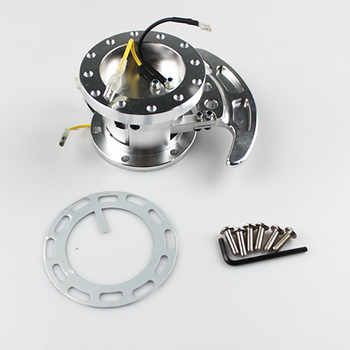 New High WORKS BELL Tilt Racing Steering Wheel Quick Release Hub Kit Adapter Body Removable Snap Off Boss Kit QR006
