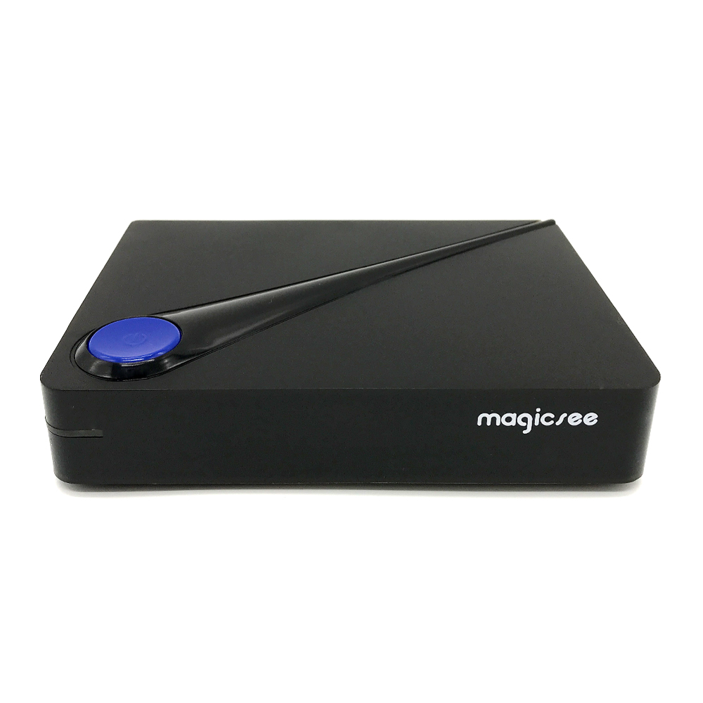 Magicsee C300 DVB S2 T2 / C TV Box Android 6.0 Amlogic S905D Smart TV Box 2GB 16GB 2.4G WiFi Set-Top Box 4K Smart Media Player smart tv приставка rombica smart t2 v01 c dvb t2 тюнером sbq tv805