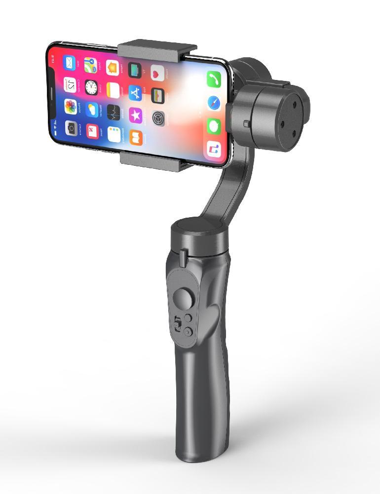 Kuulee 3-Axis Handheld stabilizator do smartfona dla iPhone X 8Plus 8 7 Android kamery sportowe