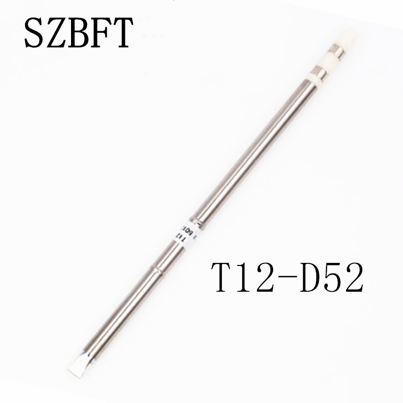 SZBFT 1pcs  For Hakko t12 soldering station T12-D52 Electric Soldering Irons Solder Tips For FX-950/FX-951 station