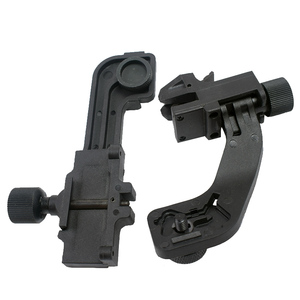 Image 2 - Tactical Polymer NVG Mount Set Night Vision J Arm Mount Adapter fits Helmet Pvs14 Pulsar GS1X20 for Hunting Rifle Sighting Scope