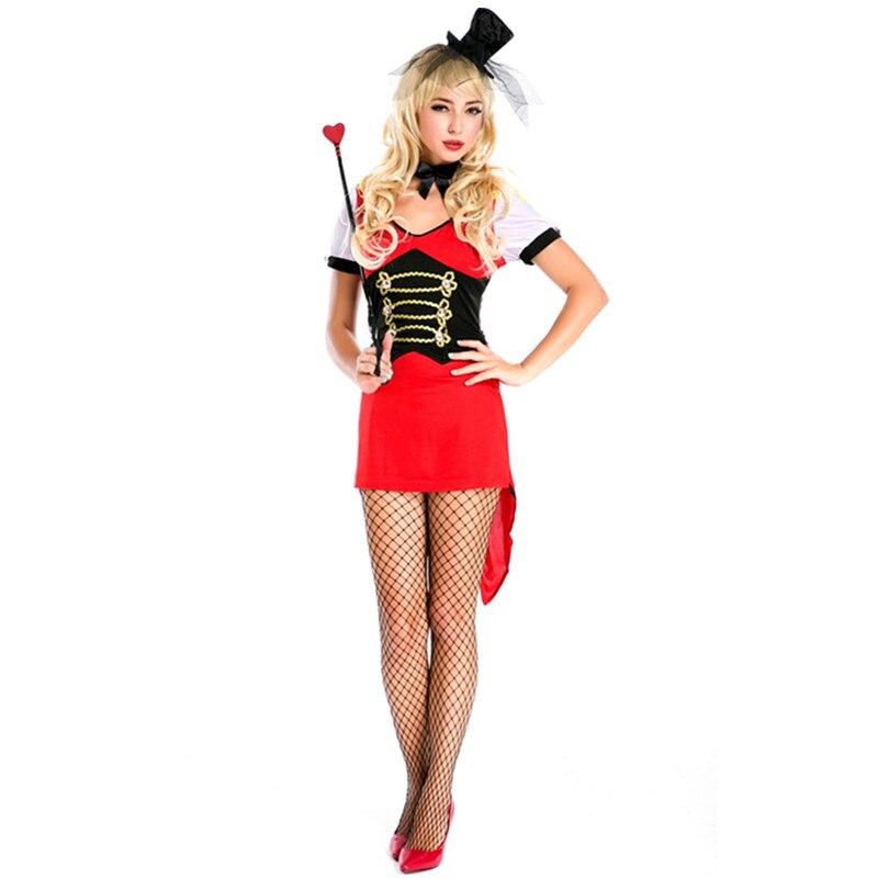 bc47ab91d89 Ringleader Girl Costumes & Adult Horror Clown Costume Sc 1 St Spirit ...