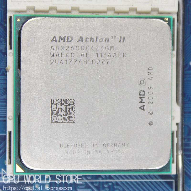 AMD Athlon II X2 260 CPU Processor 3.2Ghz/ 2M /2000GHz Socket Am3 Am2+ 938 Pin