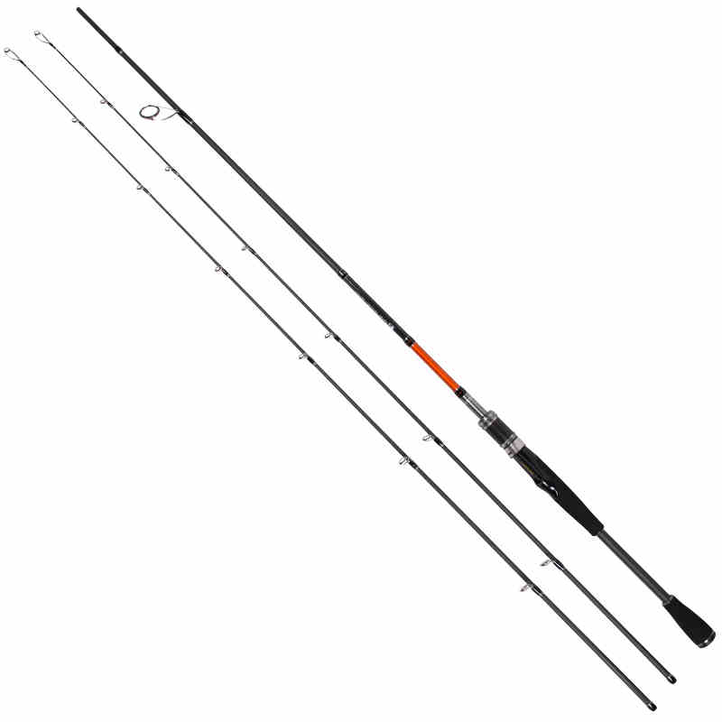 TSURINOYA Spinning Rod with 2 tips M & ML Power 7/2.1M Carbon Material Rod pesca carpe Joy together 702S