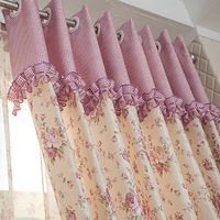 Thickened Garden Living Room Curtains Marriage Room Children Window Curtains Thick Shade Modern Blackout Curtains Cloth